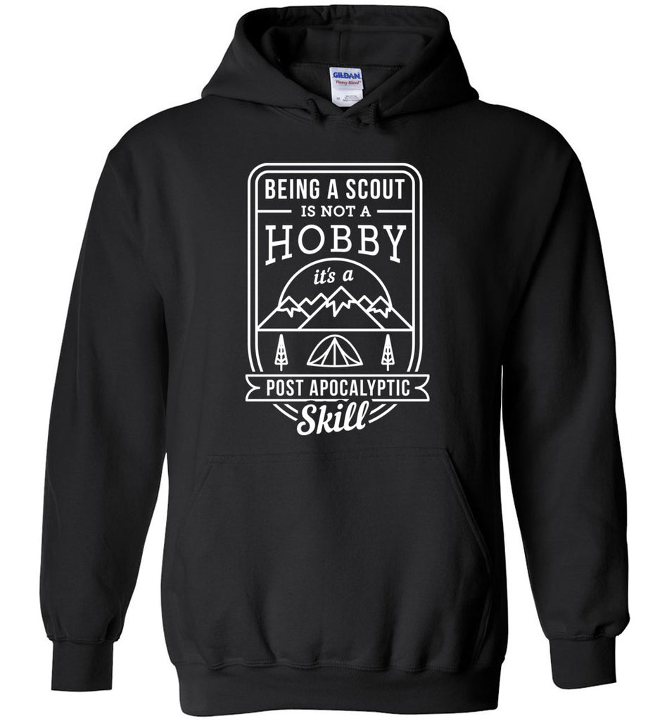 Being A Scout Is Not A Hobby - Scouting Hoddie