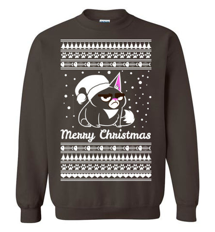 Ugly Christmas Sweater - Cat Motif