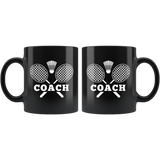 Coach 11oz Black Mug