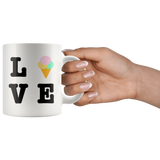 Ice Cream Love White Mug