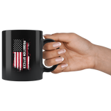 Probation Officer 11oz Black Mug