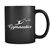 Gymnastics Mug in Black