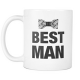 Best Man Bow Tie Mug - Funny Bachelor Party Gift