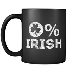 0% Irish St Patrick's Day Mug