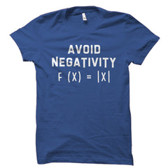 Avoid Negativity Math Equation Shirt