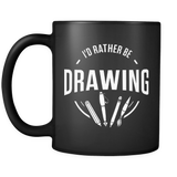 I'd Rather Be Drawing Mug