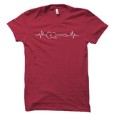 Bass Guitar Heartbeat Shirt