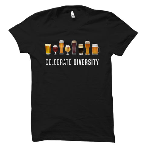 Celebrate Diversity (Beers) Shirt
