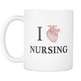 I Heart Nursing Mug - Gift for Nurse