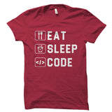 Eat Sleep Code Shirt
