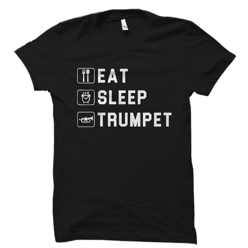 Eat Sleep Trumpet Shirt