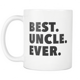 Best Uncle White Mug