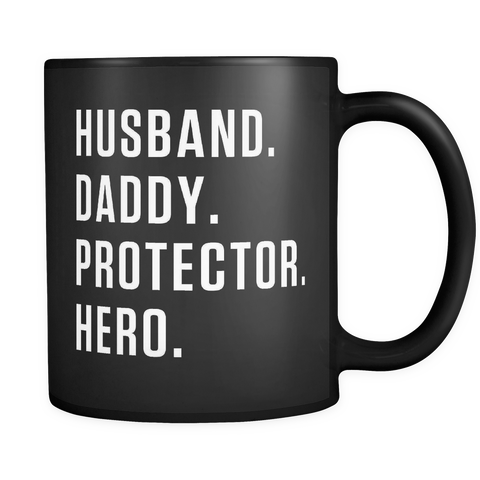 Husband Daddy Protector Hero Mug