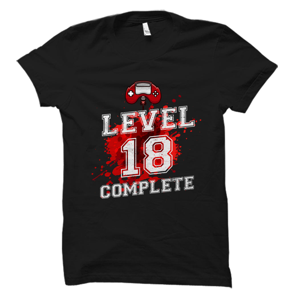 Level 18 Complete Shirt