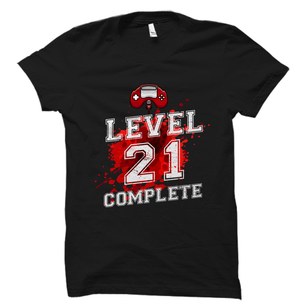 Level 21 Complete Shirt