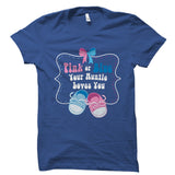 Pink Or Blue Your Auntie Loves You Shirt