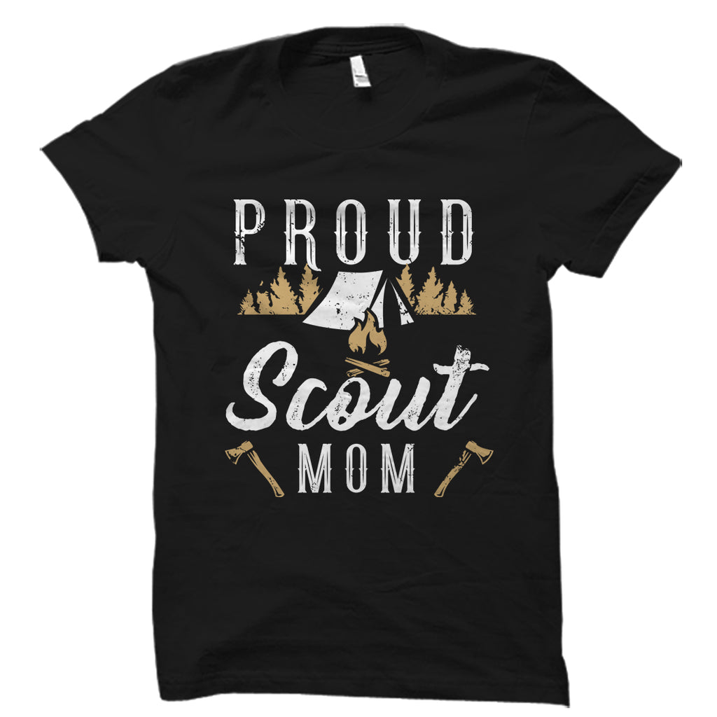 Proud Scout Mom Shirt