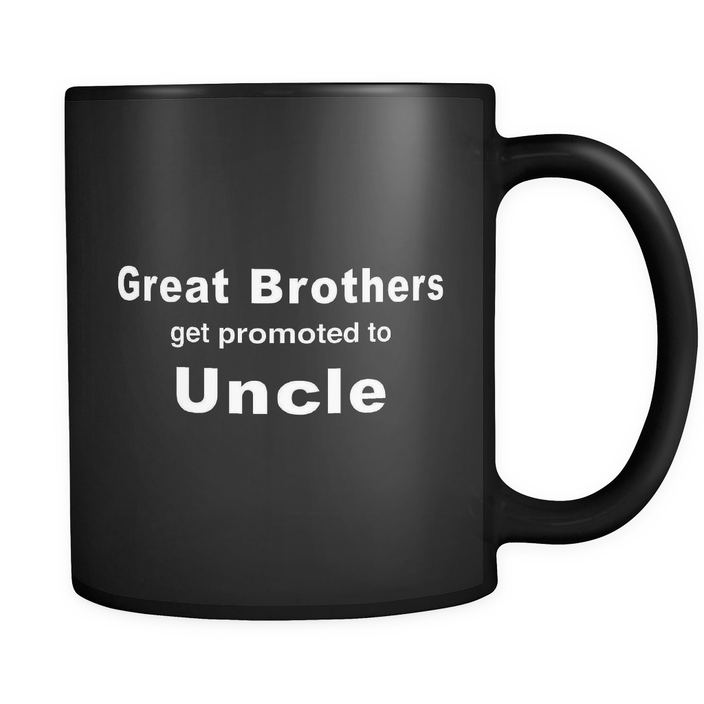 Future Uncle Black Mug
