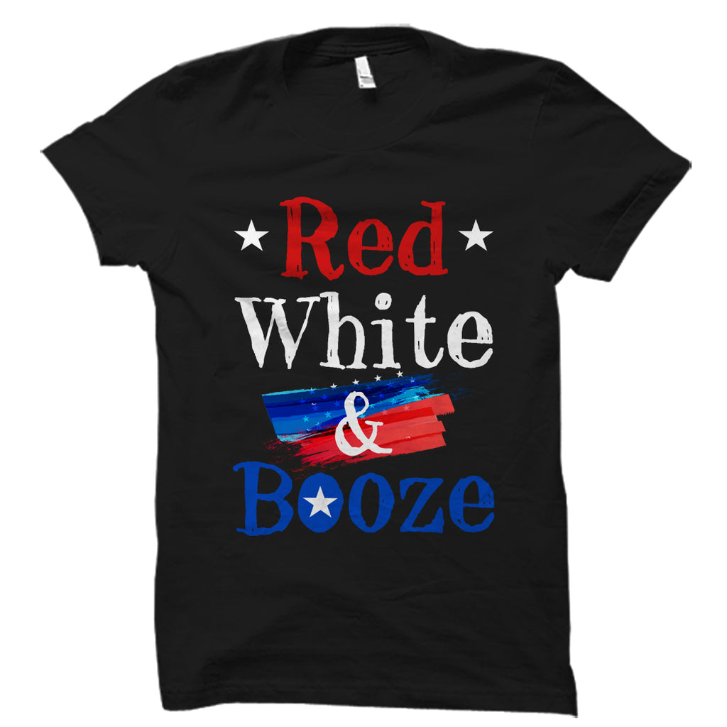 Red White And Booze Shirt