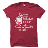 Social Worker By Day Cat Lover By Night Shirt
