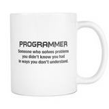 Funny Programmer Description Mug