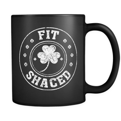 Fit Shaced St Patricks Day Mug