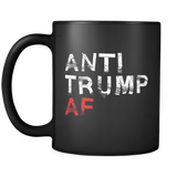 Anti Trump AF Black Mug