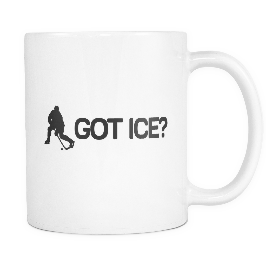 Got Ice? Ice Hockey Player Mug - Gift for Ice Hockey Player