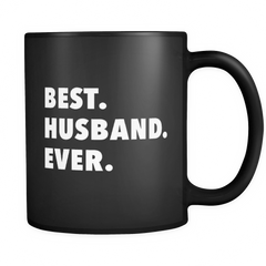 Best Husband Ever Black Mug
