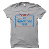 All American Aunt White Shirt