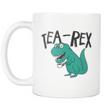 Tea-Rex White Mug