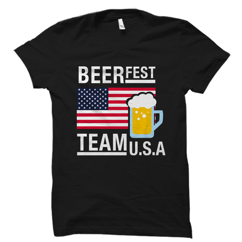 Beerfest Team USA Beer Shirt
