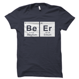 Beer Periodic Table Shirt
