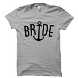 Bride Anchor Design Shirt