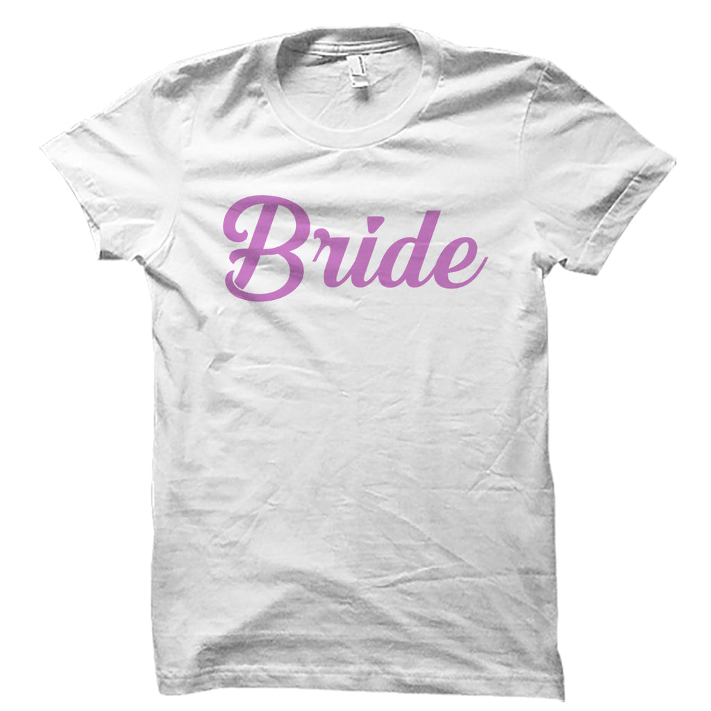 Bride White Shirt