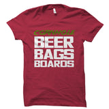 Cornhole Beer Bags Boards Shirt