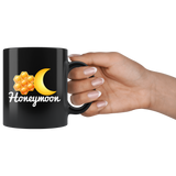 Honey Moon 11oz Black Mug