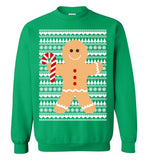 Gingerbread Man Ugly Christmas Sweater