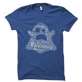 Halloween Words Ghost Shirt