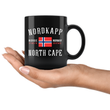 Nordkapp Please Do Writing + Numbers As Pictured 11oz Black Mug