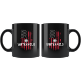American Water Polo 11oz Black Mug
