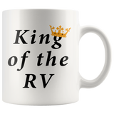 King Of The RV White Mug