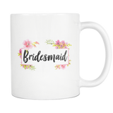 Bridesmaid White Mug