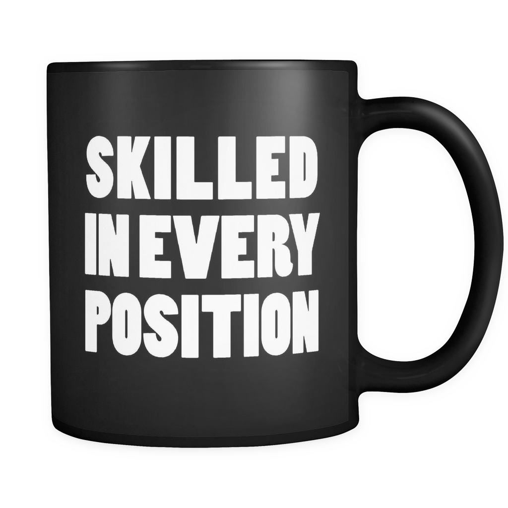 Skilled In Every Position Yoga Instructor Mug