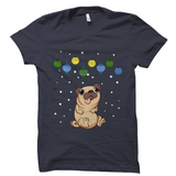 Pug Ugly Christmas T-Shirt