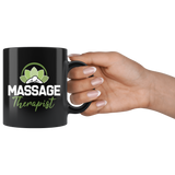 Massage Therapist 11oz Black Mug