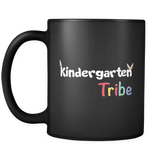 Kindergarten Tribe Black Mug