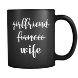 Just Married Wife Mug