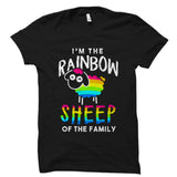 I'm The Rainbow Sheep Of The Family Shirt