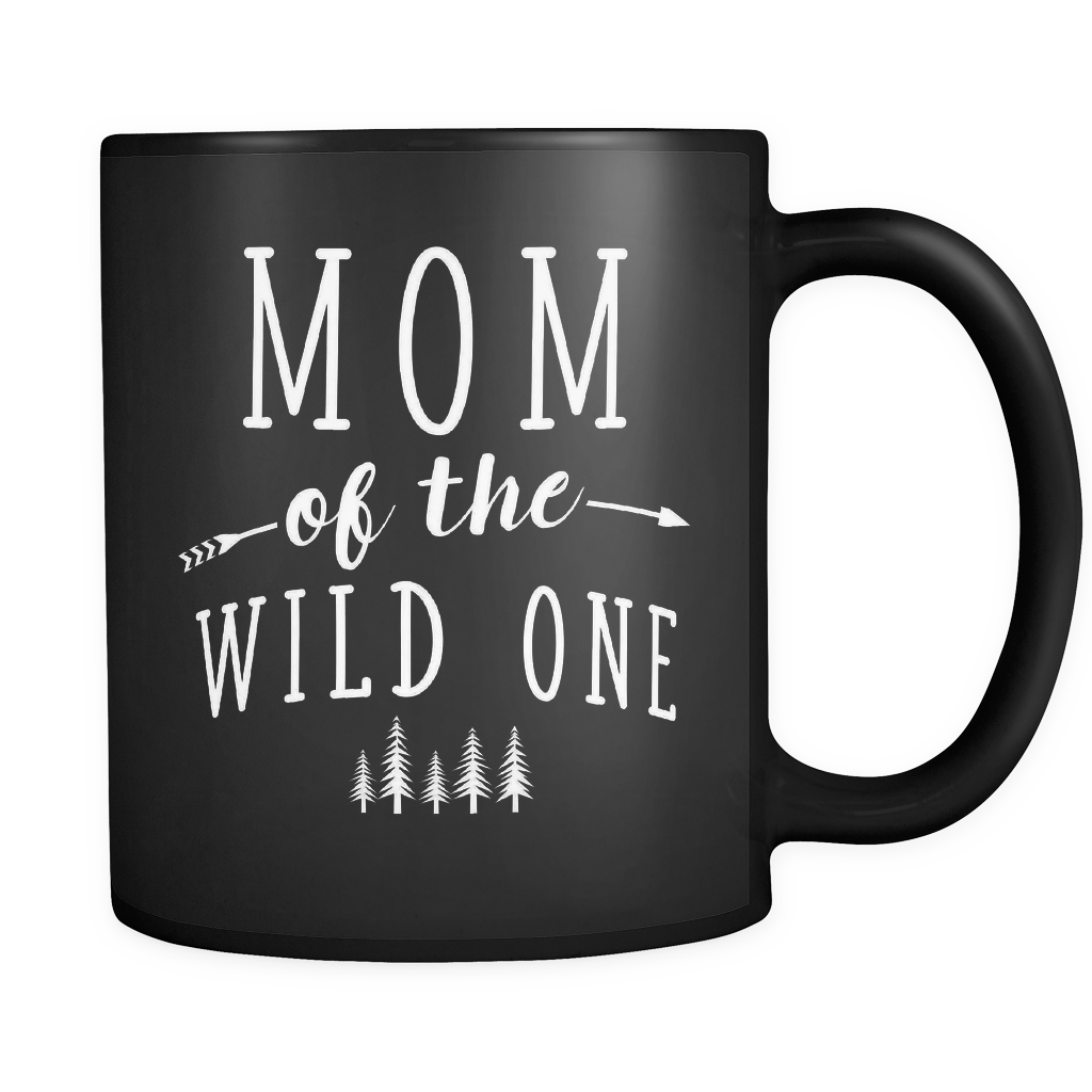 Mom of The Wild One Mug